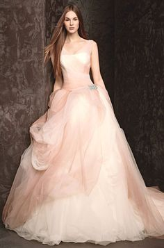 UBetts Rental & Design | Vera Wang Blush Wedding Dress - This could be IT!!!!