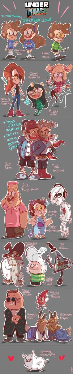 UnderFalls by chibiirose.deviantart.com on @DeviantArt- This makes me really really happy.>GOMPERS TORIEL I CANT. -------------- OMG OMG OMG OMG <3 <3