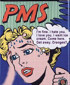 """PMDD isn't just another female being irrational... """"Premenstrual Dysphoric Disorder is a severe form of premenstrual syndrome. Like PMS, PMDD follows a predictable, cyclic pattern. Emotional symptoms are generally present and in PMDD, mood symptoms are dominant. Substantial disruption to personal relationships is typical for women with PMDD. Anxiety, anger, and depression may also occur."""""""