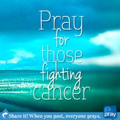 Prayer for cancer - ePray.org is the world's largest social gathering of people who need prayer! Go to epray to post, pray, and share.