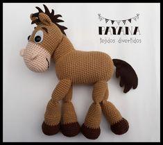 Tiro al blanco Crochet Toy story - Amigurumi Crochet Crafts, Yarn Crafts, Crochet Toys, Crochet Baby, Crochet Projects, Sewing Projects, Toy Story Room, Cartoon Network, Cumple Toy Story