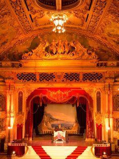 The Blackpool Tower Ballroom and famous Wurlitzer organ