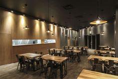 Touch on Essence – Le Japanese modern cuisine restaurant by AtelierSUN, Markham – Canada » Retail Design Blog