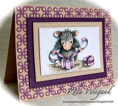 Store blog: Meet Monica from The House Mouse Family-great coloring instructions!