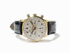 Wakmann Vollkalender Chronograph, Schweiz, um 1965 Wakmann Vollkalender ChronographSchweiz, um 1965V