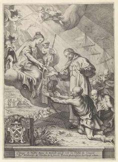 Maria als Onze Lieve Vrouwe ter Hulpe en de verlossing van de gevangenen, Theodoor van Thulden, 1632 - 1633 - Rijksmuseum