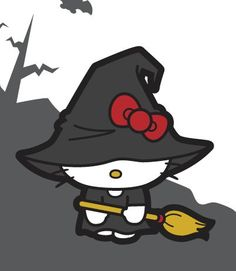 Hello Kitty Halloween...
