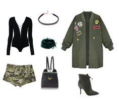 Este estilo está marcando fuertemente tendencia, no simplemente en los grandes desfiles de moda a nivel mundial sino también adaptando con mayor impacto al Street Style. Camouflage tuvo su comienzo… Polyvore, Image, Fashion, Tinkerbell, Fashion Show, Military Fashion, Wraps, Trends, Women