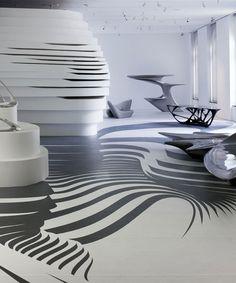 Première exposition aux EtatsUnis pour l'architecte Zaha Hadid. dans Nouvelles et nouveautés Design.