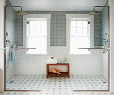 One of the hot trends in modern baths is to eliminate the tub, using only the bathroom shower enclosure ideas to accommodate a less leisurely lifestyle. Hopefully through these bathroom shower enclosures ideas you can get inspirations. Best Bathroom Flooring, Bathroom Floor Tiles, Bathroom Renos, Small Bathroom, Master Bathroom, Bathroom Ideas, Basement Flooring, Bath Ideas, Bathroom Designs