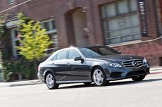 My new 2014 Mercedes-Benz E350. Love it and the color steel metallic.