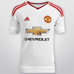 Si tu hijo ya es todo un ferviente seguidor del conjunto más ganador de la Premier League, lucirá en todos los partidos fuera de casa el Jersey Infantil Adidas Manchester United Visita 15/16 S/N°.