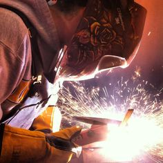 Carbon arc gouging....Whats that?....welders you know what I mean!  early out.