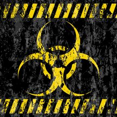 Grunge Bio-hazard Sign #graphicriver
