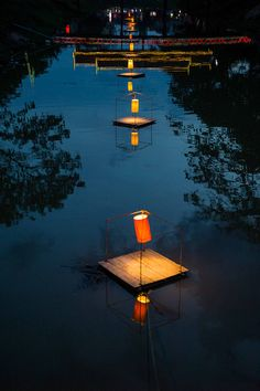 Floating Lanterns, Cambodia