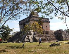 Mayan Ruins in Progresso Mexico