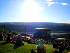 A BEAUTIFUL day at The Gorge Amphitheatre! Photo by @Breanna Singleton