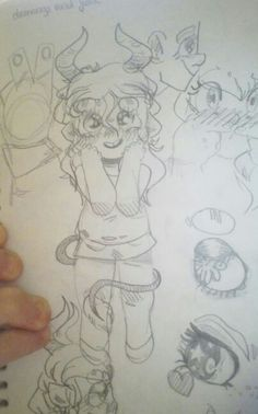 Little Monster Girl by: @rainb0wskittles (DrawnMasterpiece) DeviantART.com