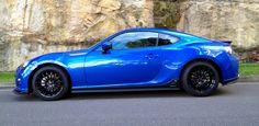Brz series blue w/ rear trunk lip