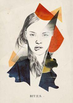 Fashion Illustration by Adriana Krawcewicz
