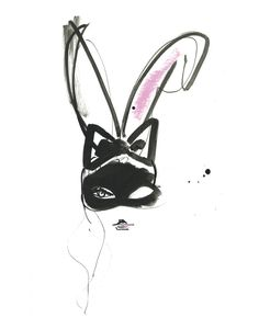 "Bunny Ears - More illustrations LINE BOTWIN ""illustrations portraits"""