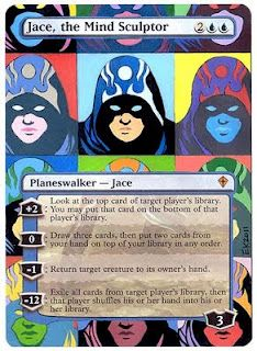 Jace, The Mind Sculptor. - Andy Warhol style!
