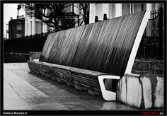 Street bench