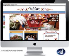 La nueva y rediseñada página web de Pour le France #PLFrance #Saltillo. Los invitamos a visitarla.  www.pourlefrance.com.mx
