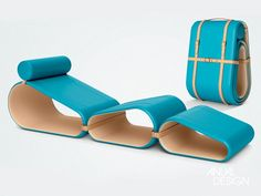 Chaise Longue by Marcel Wanders Nomadic Furniture, Trendy Furniture, Modular Furniture, Furniture Layout, Home Furniture, Furniture Design, Lounge Furniture, Multipurpose Furniture, Multifunctional Furniture