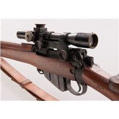 WW2 Lee Enfield No. 4 (T) Sniper Rifle by BSA 303 British ...