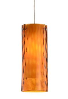 Single Lamp Pendant with Transparent Glass