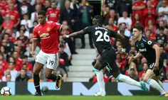 Rashford. Manchester United v West Ham 2017 Aug 13