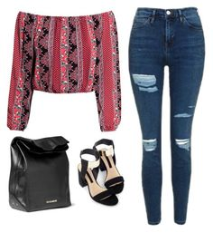 """""""Untitled #209"""" by museavenue on Polyvore featuring Topshop, H&M and Jil Sander"""