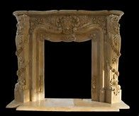 Image result for antique fireplace with ornate mantle