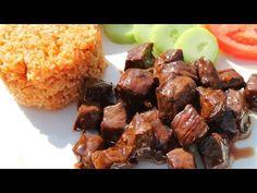 LOC LAC : Bœuf mariné sauté et riz sauté à la tomate - Cooking With Morgane - YouTube