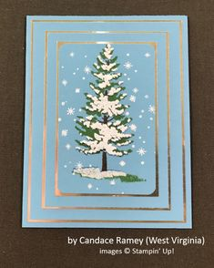 by Candace Ramey, Stampin' Up!, Holiday One-for-One Swap