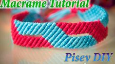 How to make macrame From Bracelet design tutorial wall hanging patterns...