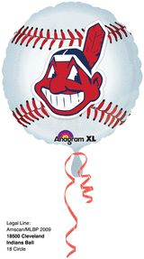 18'' Cleveland Indians Foil Balloon (Pack of 5)