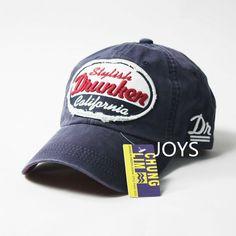 Drunken summer baseball cap male women's hat the trend of fashion sun-shading on AliExpress.com. 5% off $20.09
