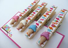 cute craft idea. clothespins