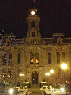 Oswego City Hall in Oswego County, New York.