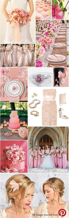 Pink Inspired Wedding Ideas