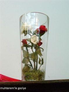 Plastic Canvas, Glass Vase, Flowers, Home Decor, Exhibitions, Glass, Bottles, Pendants, Ornaments