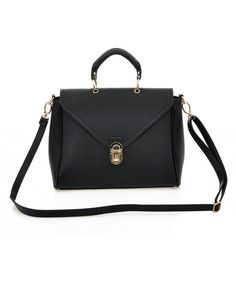 PU Leather Cross Body Envelope Bag