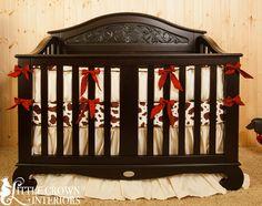 cow print crib bedding   Western Silk Crib Bedding Set · Little Crown Interiors · Online ...
