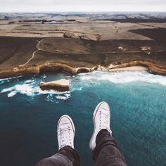 Flying high above the Great Ocean Road.  @statravel_aufdeutsch #starttheadventure @visitmelbourne #visitmelbourne by hannes_becker