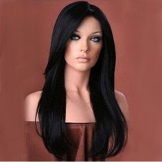 Front wigs with fashionable hairstyle. You can wear this human hair lace. Virgin Human Hair Wig is made from high quality Raw Remi human hair. Rihanna Hairstyles, Weave Hairstyles, Straight Hairstyles, Black Hairstyles, Remy Human Hair, Human Hair Extensions, Human Hair Wigs, Remy Hair, Glamour