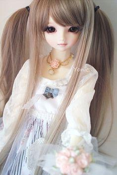 BJD doll discovered by Quỳnh Hương on We Heart It Anime Dolls, Ooak Dolls, Blythe Dolls, Pretty Dolls, Cute Dolls, Beautiful Dolls, Beautiful Things, Lifelike Dolls, Realistic Dolls