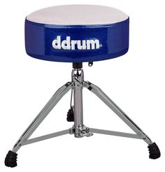 ddrum Mercury Fat Drum Throne | White / Blue