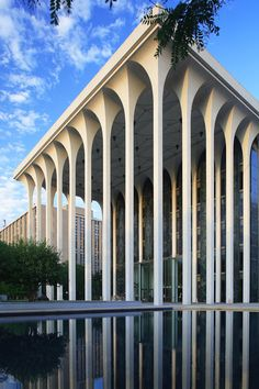 Minneapolis by Minoru Yamasaki - He's also the architect of the former World Trade Center.